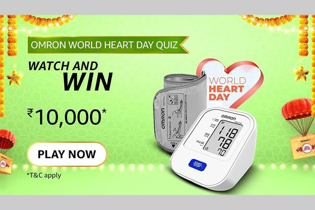 [Amazon Omron World Heart Day Quiz] Regular blood pressure monitoring is recommended and can be done easily at home for which of the following conditions?