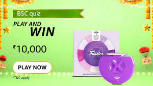 [Amazon BSC Quiz Answers] The Bombay Shaving Company Twister is an on the go razor that comes in what cute shape?