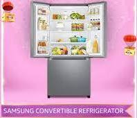 [Amazon Samsung Convertible Refrigerator Quiz Answers] How many doors are there in Samsung convertible French Door Refrigerator?