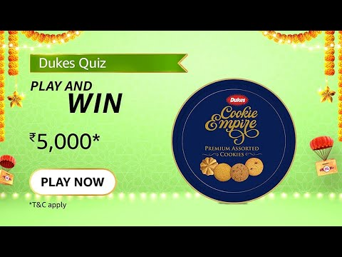 [Amazon Dukes Quiz Answers] Dukes India is celebrating which anniversary this year?